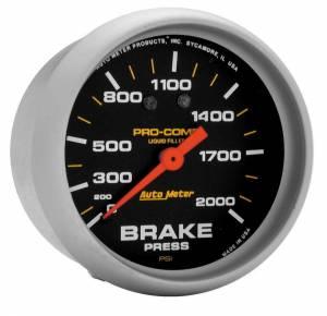 AUTO METER #5426 120-2000 Brake Pressure