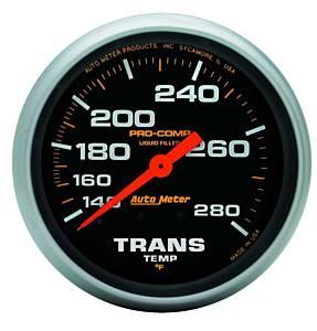 AUTO METER #5451 140-280 Trans Temp Gauge