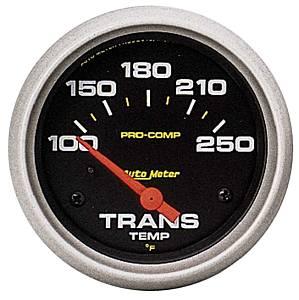 AUTO METER #5457 2-5/8in Pro-Comp Trans. Temp Gauge 100-250