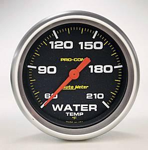 AUTO METER #5469 Pro Comp 2-5/8in Water Temp 60-210 Mech.