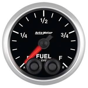 AUTO METER #5609 2-1/16 E/S Fuel Level Gauge - Programmable