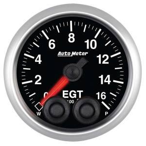 AUTO METER #5646 2-1/16 E/S Pyrometer/EGT Gauge - 0-1600F