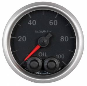 AUTO METER #5652 2-1/16 E/S Oil Press. Gauge - 0-100psi