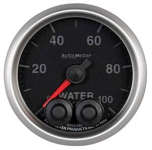 AUTO METER #5668 2-1/16 E/S Water Press. Gauge - 0-100psi