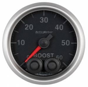 AUTO METER #5670 2-1/16 E/S Boost Gauge - 60psi