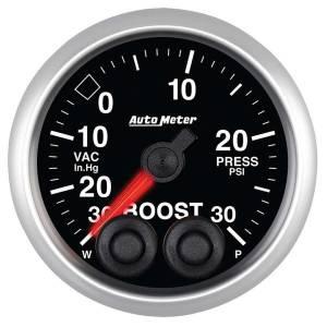 AUTO METER #5677 2-1/16 E/S Boost Gauge - 30in HG/30psi