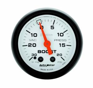 AUTO METER #5701 2-1/16in Phantom Boost / Vacuum Gauge