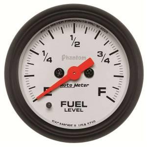 AUTO METER #5710 2-1/16in P/S Fuel Level Gauge