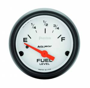 AUTO METER #5714 Phantom 2 1/16in Fuel 65- GM