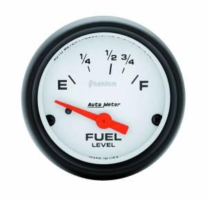 AUTO METER #5718 2-1/16in Phantom Fuel Level Gauge