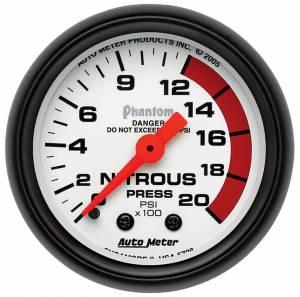 AUTO METER #5728 2-1/16in Phantom Nitrous Pressure Gauge