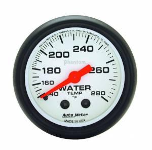 AUTO METER #5731 Phantom 2 1/16in Water Temp 140-280