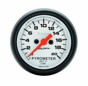 AUTO METER #5745 2-1/16in Phantom 2000 Degree Pyrometer