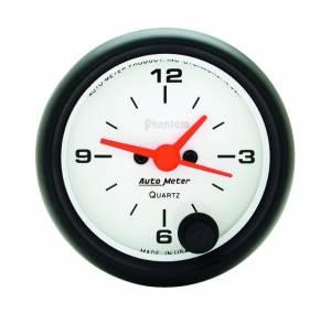AUTO METER #5785 2-1/16in Phantom Clock