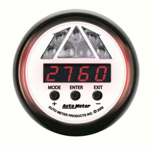 AUTO METER #5787 2-1/16in P/S Shift Light - 1 Stage