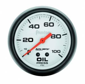 AUTO METER #5821 2-5/8in Phantom Oil Pressure Gauge 0-100psi