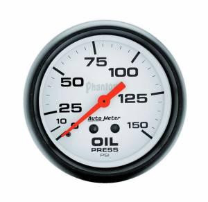 AUTO METER #5823 2-5/8in Phantom Oil Pressure Gauge 0-150psi