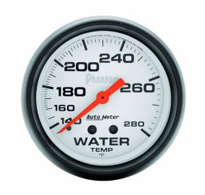 AUTO METER #5831 2-5/8in Phantom Water Temp Gauge 140-280