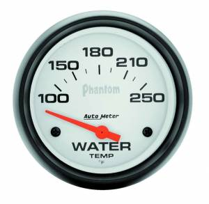 AUTO METER #5837 2-5/8in Phantom Water Temp. Gauge 100-250
