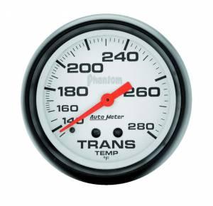 AUTO METER #5851 2-5/8in Phantom Trans. Temp. Gauge 140-280