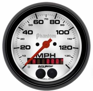 AUTO METER #5880 3-3/8 Phantom GPS Speedo w/Rally-Nav Display
