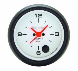 AUTO METER #5885 2-5/8in Phantom Clock