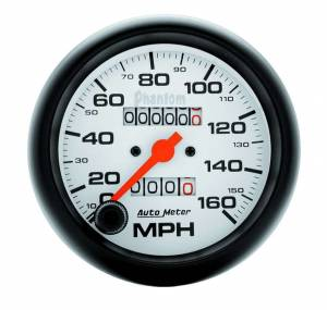AUTO METER #5893 3-3/8in Phantom Speedo 160mph