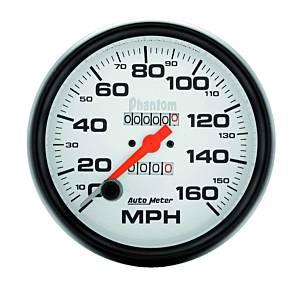 AUTO METER #5895 5in Phantom Speedometer 160mph