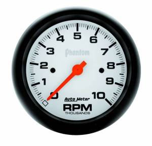 AUTO METER #5897 3-3/8in Phantom In-Dash Tach 10000 RPM