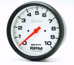AUTO METER #5898 5in Phantom In-Dash Tach 10000 RPM