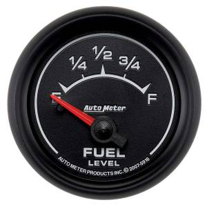 AUTO METER #5916 2-1/16 ES Fuel Level Gauge - S/W 240-33ohms