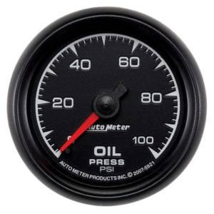 AUTO METER #5921 2-1/16 ES Oil Pressure Gauge - 0-100psi