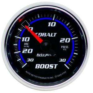 AUTO METER #6103 2-1/16in C/S Boost/Vac Gauge 30in Hg/30psi