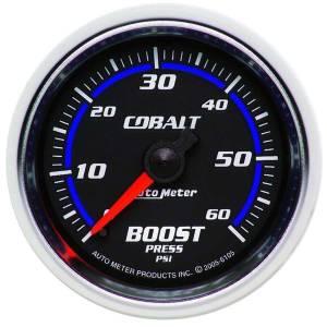 AUTO METER #6105 2-1/16in C/S Boost Gauge 0-60psi
