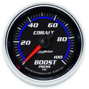 AUTO METER #6106 2-1/16in C/S Boost Gauge 0-100psi