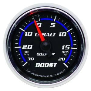 AUTO METER #6107 2-1/16in C/S Boost/Vac Gauge 30in HG/20psi