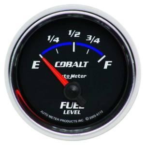 AUTO METER #6113 2-1/16in C/S Fuel Level Gauge 0-90ohms