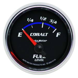 AUTO METER #6115 2-1/16in C/S Fuel Level Gauge 73-10ohms