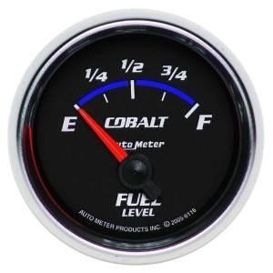AUTO METER #6116 2-1/16in C/S Fuel Level Gauge 240-33ohms