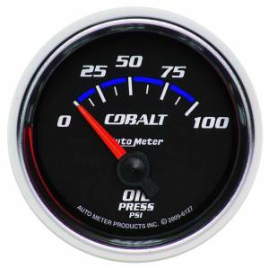 AUTO METER #6127 2-1/16in C/S Oil Pressure Gauge 0-100psi