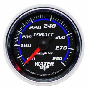 AUTO METER #6131 2-1/16in C/S Water Temp Gauge 140-280