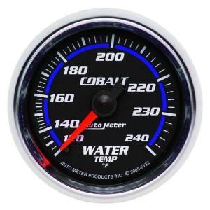 AUTO METER #6132 2-1/16in C/S Water Temp Gauge 120-240