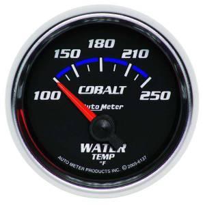 AUTO METER #6137 2-1/16in C/S Water Temp Gauge 100-250