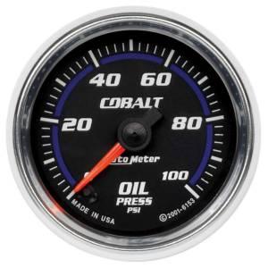 AUTO METER #6153 2-1/16in C/S Oil Pressure Gauge 0-100psi