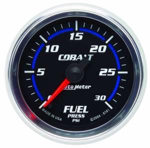 AUTO METER #6161 2-1/16in C/S Fuel Press. Gauge 30psi