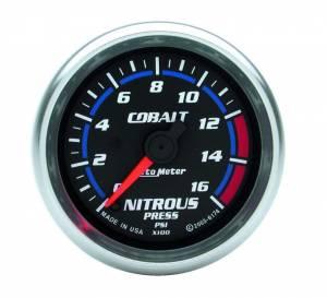 AUTO METER #6174 2-1/16in C/S NOS Pressure Gauge 0-1600psi