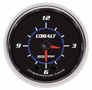 AUTO METER #6185 2-1/16 Cobalt Hi-Def Clock