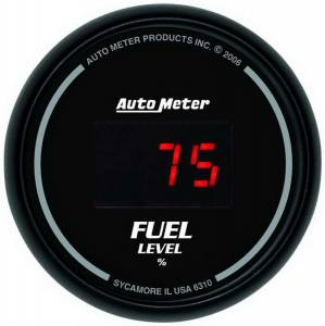 AUTO METER #6310 2-1/16in DG/B Fuel Level Gauge