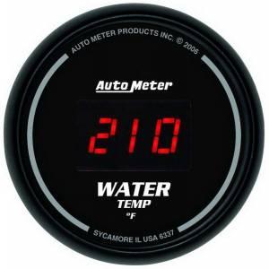 AUTO METER #6337 2-1/16 DG/B Water Temp Gauge