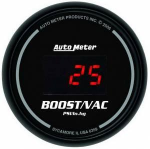 AUTO METER #6359 2-1/16in DG/B Vacuum/ Boost Gauge